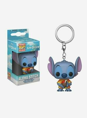 Funko Lilo & Stitch Pocket POP! Disney Aloha Stitch Exclusive Keychain