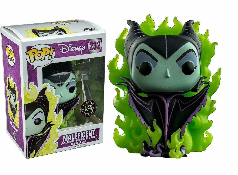 Funko POP Disney Maleficent Exclusive CHASE GITD