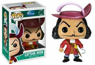 Funko POP Disney Series 3: Captain Hook Vinyl Figure