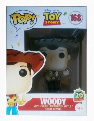 Funko Pop! Disney #169 Toy Story Black & White Woody (Box Lunch Exclusive)