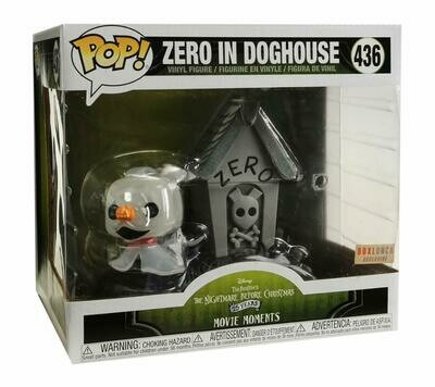 Funko POP! Movie Moments: Disney The Nightmare Before Christmas - Zero in Doghouse #436 - BoxLunch Exclusive!