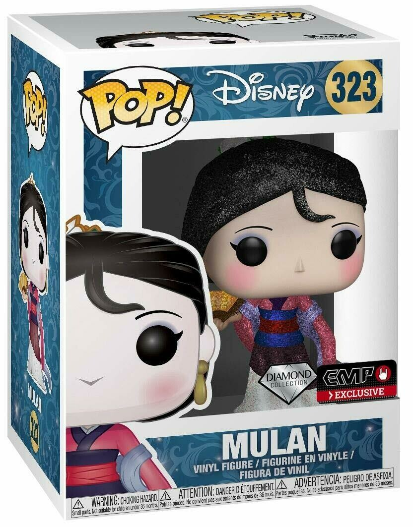 POP! Funko Disney #323 Mulan Diamond Collection Vinyl Figure