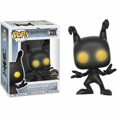 Funko POP! Kingdom Hearts Shadow Heartless CHASE Version Glow Eyes