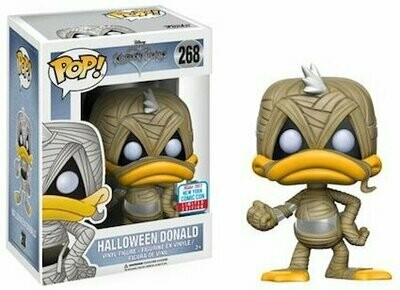 2017 NYCC Exclusive Pop! - Disney: Kingdom Hearts - Halloween Donald with NYCC Sticker