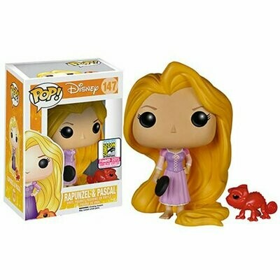 Funko Pop! Disney #147 Tangled Rapunzel & Pascal (SDCC 2015 Exclusive)