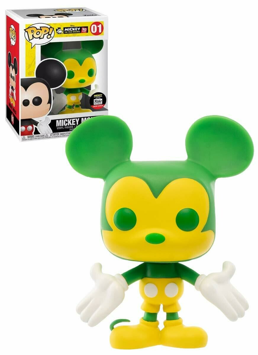 Funko Pop! Disney: Mickey Mouse (Exclusive) Green & Yellow