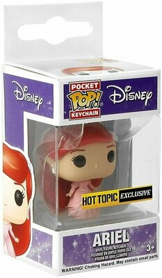 POCKET POP Funko Disney The Little Mermaid Ariel (Dress) Key Chain Hot Topic Exclusive