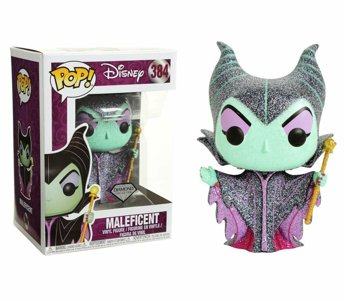 Funko Pop! Disney Maleficent #384 (Diamond Collection)