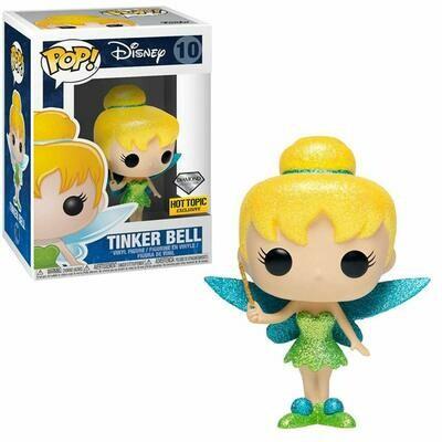 Funko Pop! Disney Peter Pan Tinker Bell #10 (Diamond Collection)