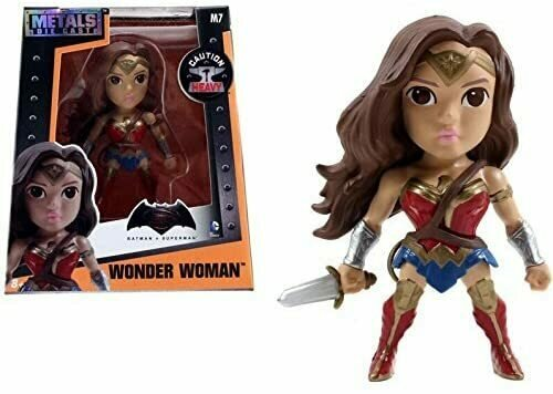 Metals Batman V Superman 4 inch Classic Figure - Wonder Woman (M7)