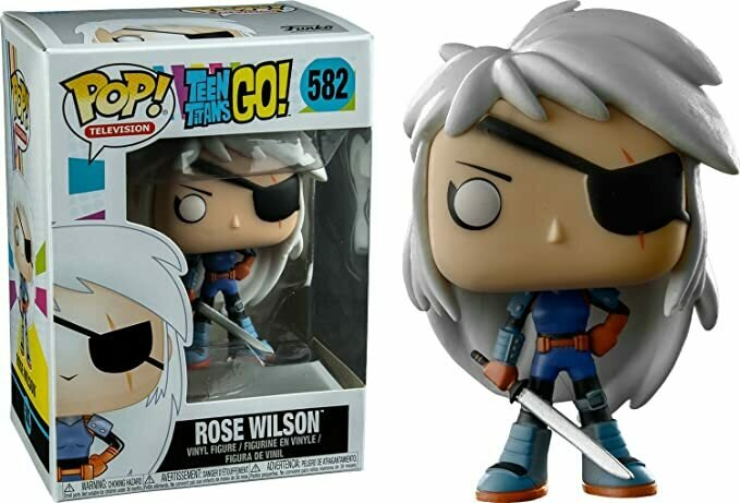 Funko Pop! TV: Teen Titans Go! -Rose Wilson Collectible Toy