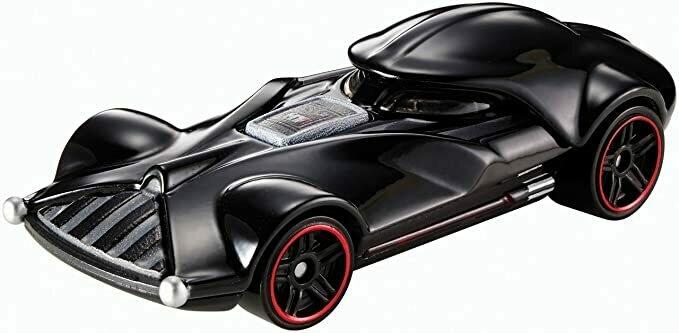 Hot Wheels Star Wars Darth Vader Character Car