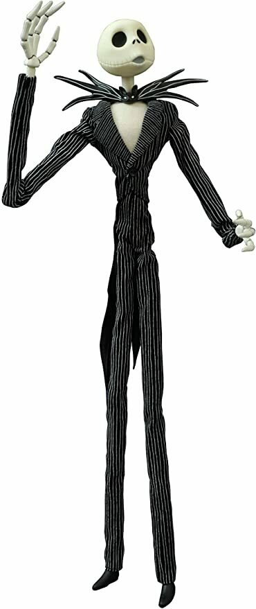 "Diamond Select Toys Nightmare Before Christmas: Jack Skellington 16"" Coffin Doll Action Figure"