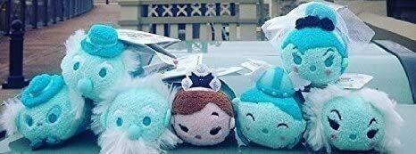 Disney Parks Usa Haunted Mansion Complete Set Of 7 Mini Tsum Tsum Plush New Tags