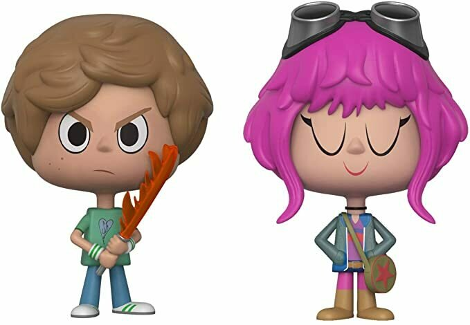 Funko VYNL Scott Pilgrim vs. The World Scott Pilgrim and Ramona Flowers 2018 Summer Convention Exclusive 2 Pack