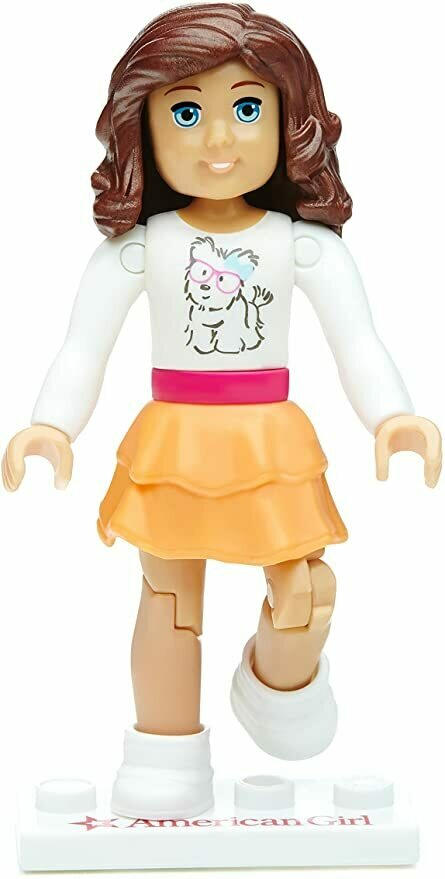 Mega Construx American Girl Series 1 Furever Friends Mini Figure