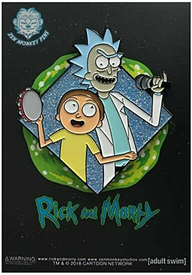 You gotta get Schwifty - Famous Moments Collectible Pin