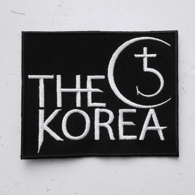 THE KOREA - нашивка прямоугольная