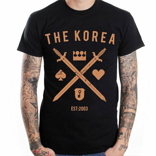 "THE KOREA - Футболка ""Мечи"" (черная)"