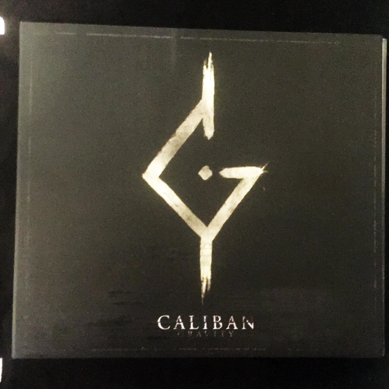 "CD digipack CALIBAN ""GRAVITY"" 2016"
