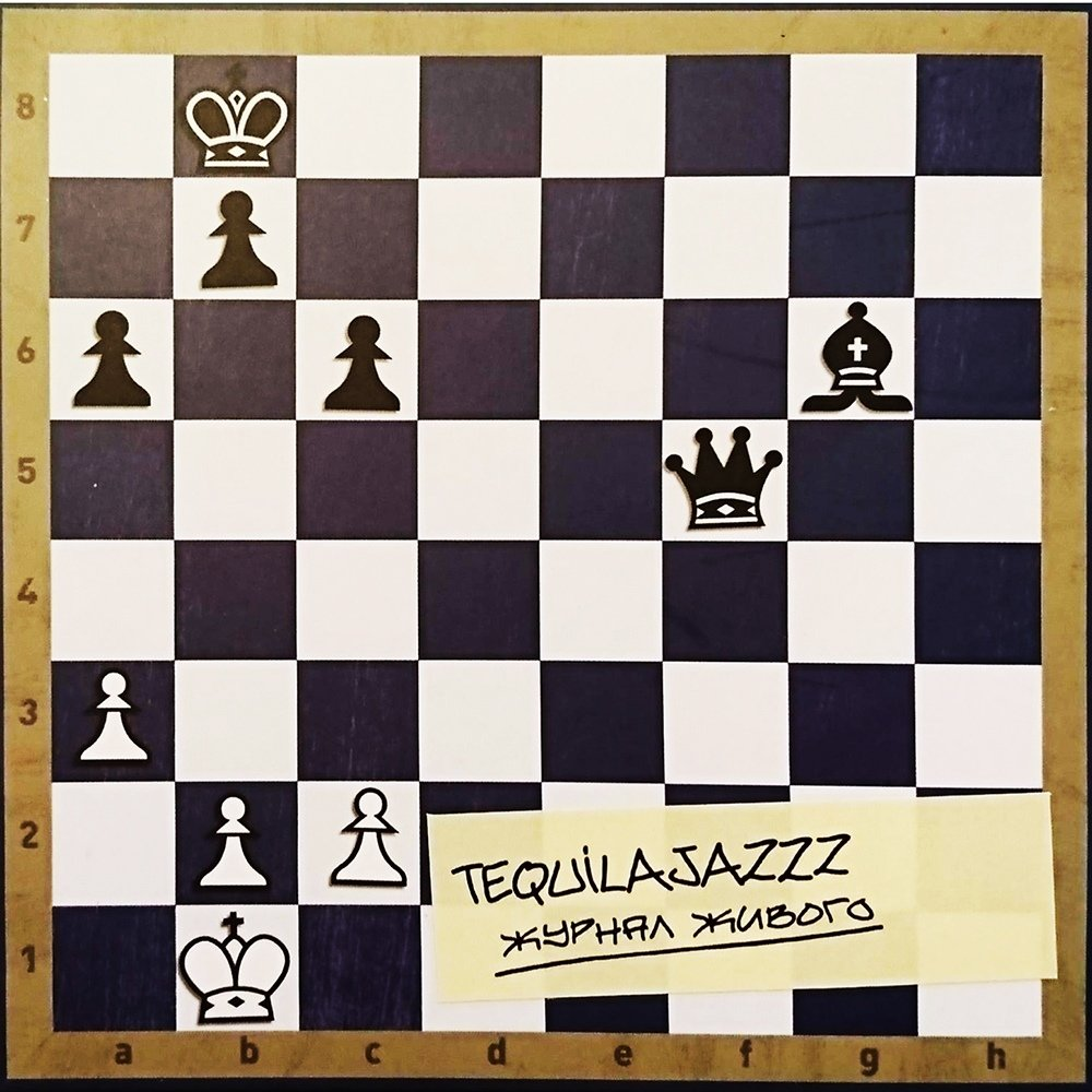 TEQUILAJAZZZ - ЖУРНАЛ ЖИВОГО (CD)
