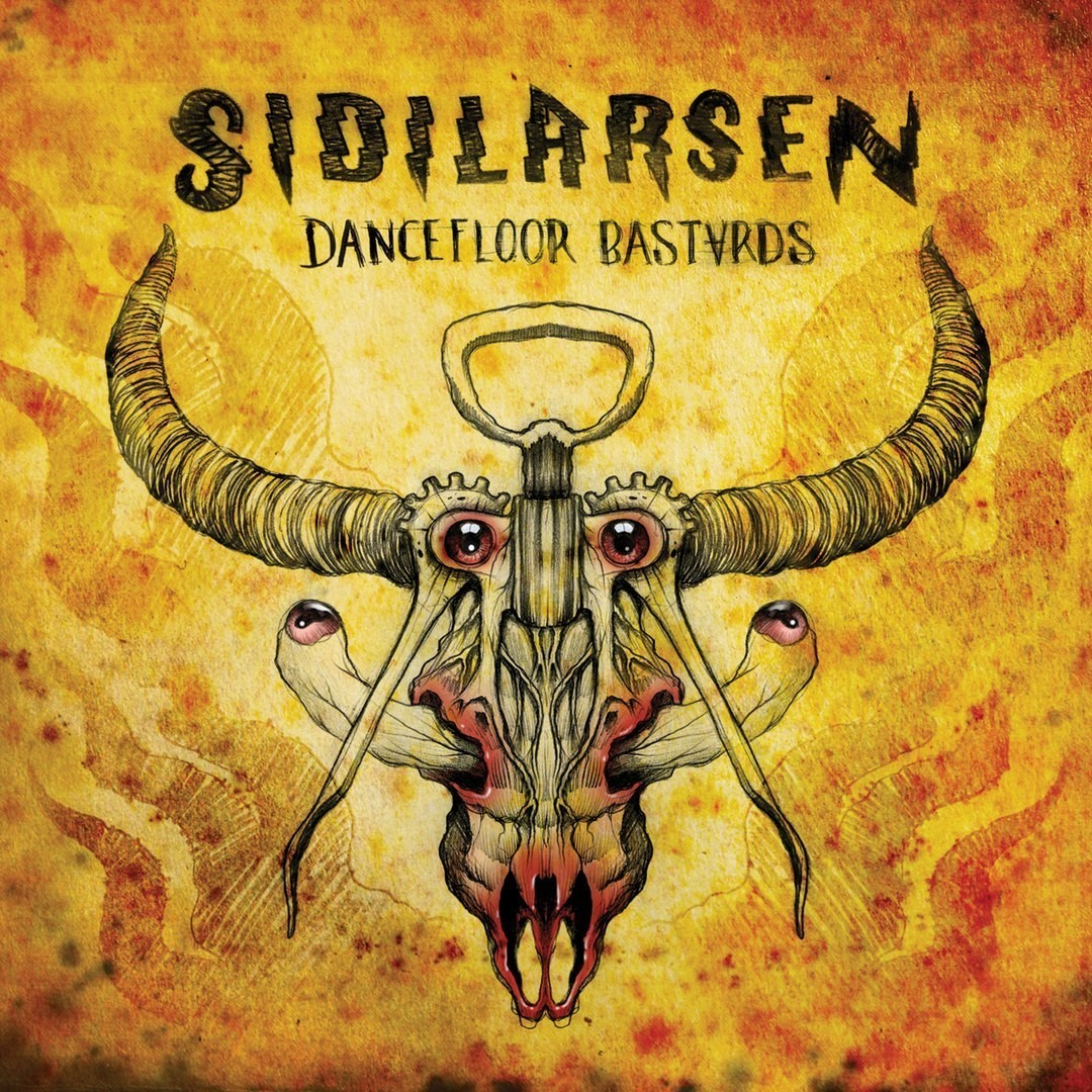 "CD SIDILARSEN ""DANCEFLOOR BASTARDS"" 2016 (digipack)"
