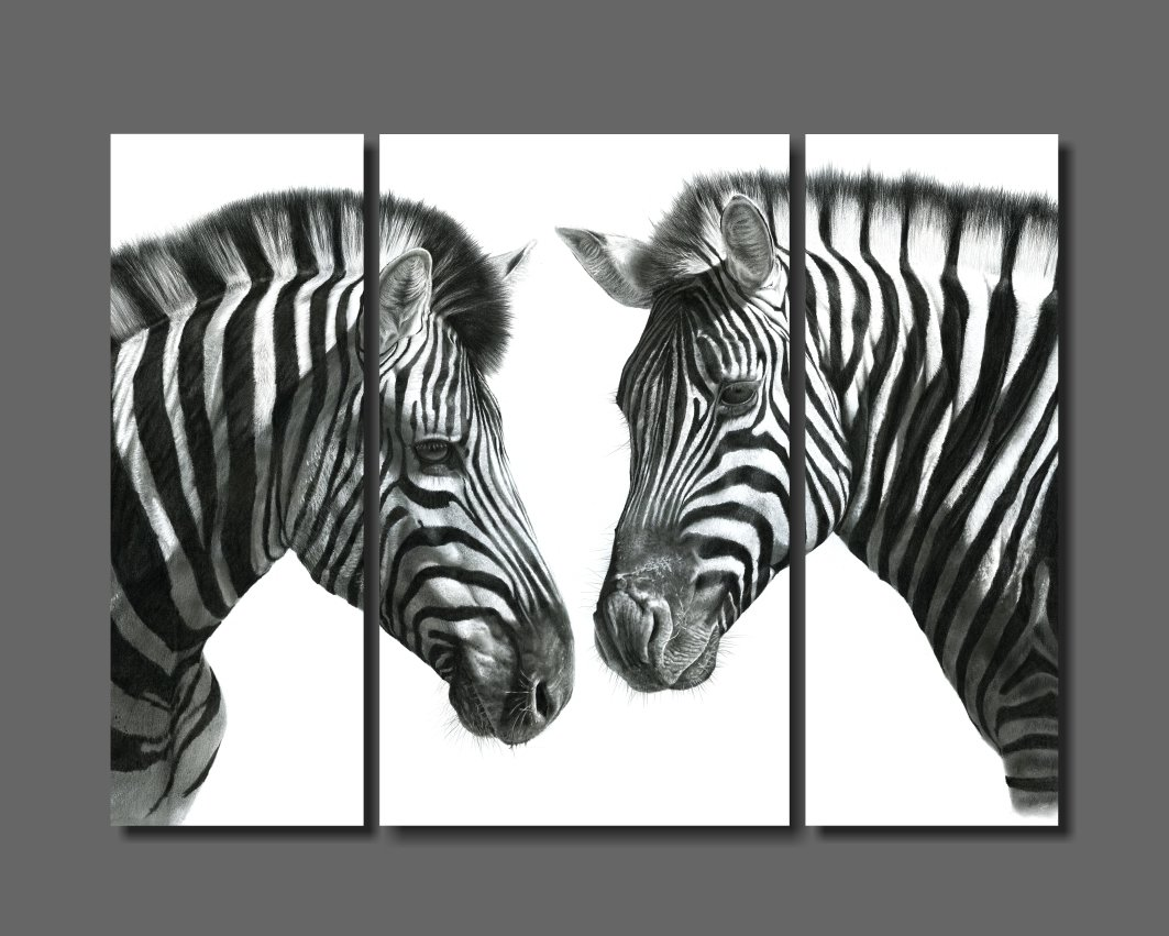 """""""Indaba"""" 1180mm x 890mm composite print on canvass (unframed)"""