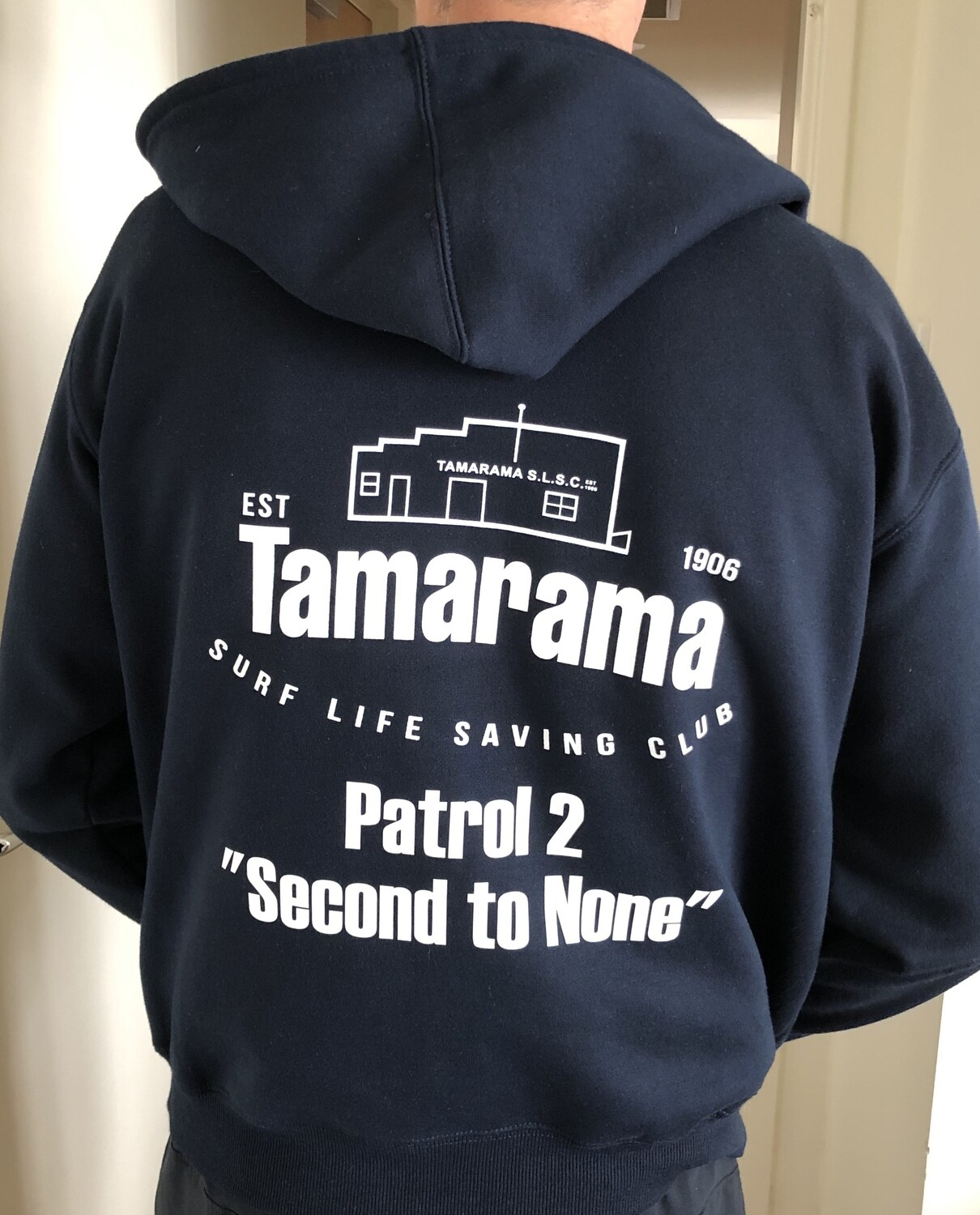 Hoodie - All sizes for limited time new order until Monday 30 March 2020. Custom labelling included.
