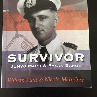 Engish Version - PRE-ORDER Only  Survivor - The Story of Willem Punt