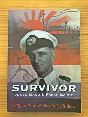 Engish Version - In Stock - Survivor - The Story of Willem Punt