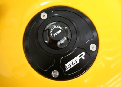 3 Hole Keyless Gas Cap; Gen 2 SV650 and SV1000 models