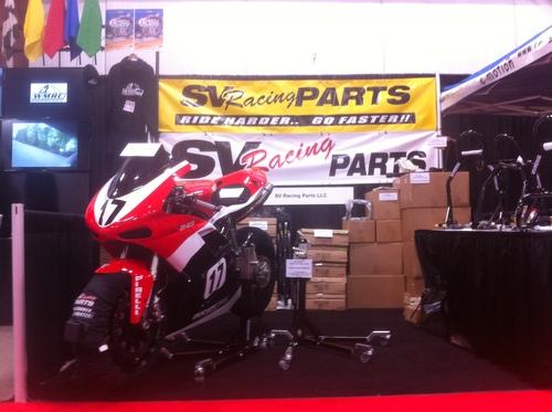 Black Custom Paddock Style Side Lift Stands for Ducati Diavel Models