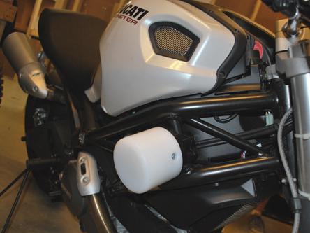 Ducati Monster 696 796 1100 Frame Sliders