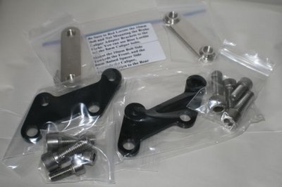 DL1000 Brake Caliper Adapter Brackets
