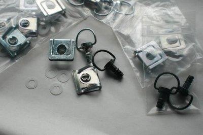 6 Pack Quarter Turn Dzus Clip Set Bodywork Fasteners