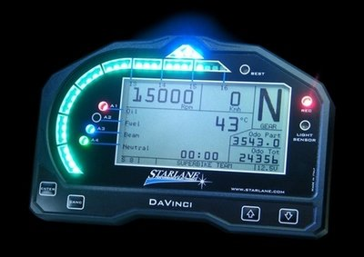 StarLane DaVinci Digital Dashboard