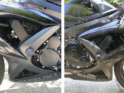 Suzuki GSXR 600 and 750 08 - 13 Frame Sliders