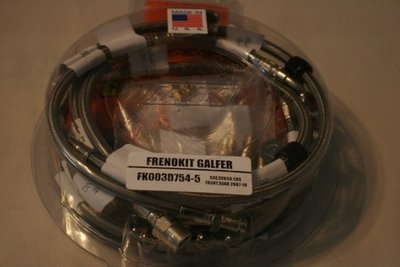 Galfer SV650 abs Models SS  Full System Front and Rear Brake Lines Kit