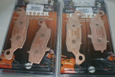 Galfer Gen 1 SV650 HH Sintered Complete Front and Rear Brake Pads Set