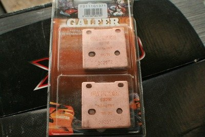 Galfer SV650 HH Sintered Rear Brake Pads