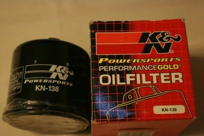 SV650 and SV1000 K&N #138 High Performance Oil Filter