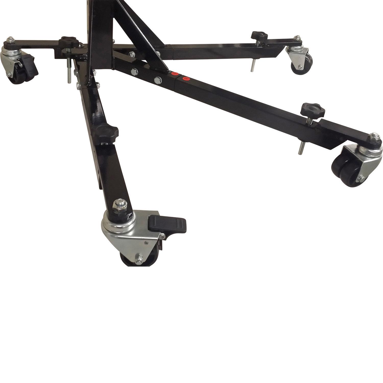 Black Custom Paddock Style Side Lift Stands 2006 - 2010, GSXR 600/750