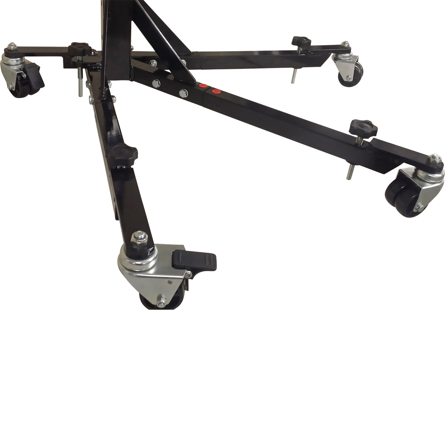 Black Custom Paddock Style Side Lift Stands for Ducati 1199 Panigale Models