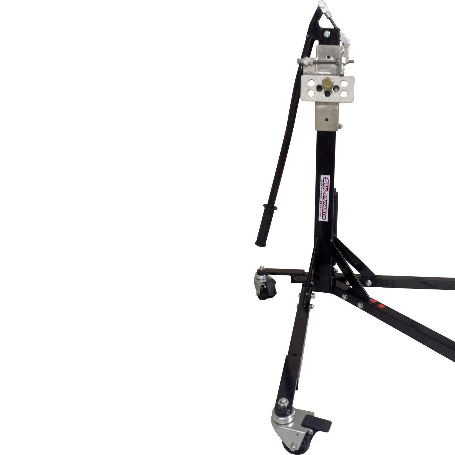 Black Custom Paddock Style Side Lift Stands Ducati 1200 Monster Models