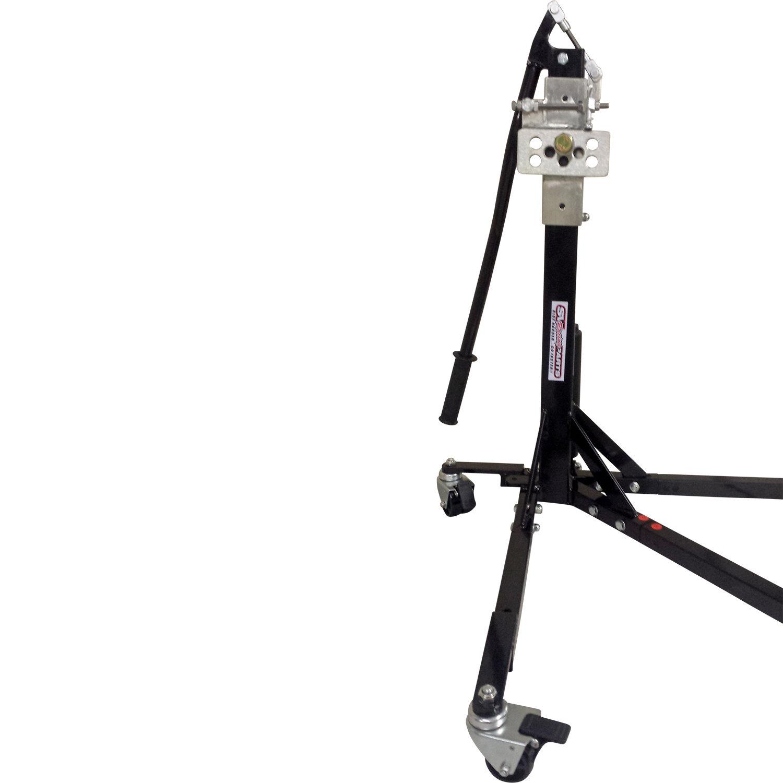 Black Custom Paddock StyleSide Lift Stand '99 - 2002 Gen 1 SV650 Suzuki Models