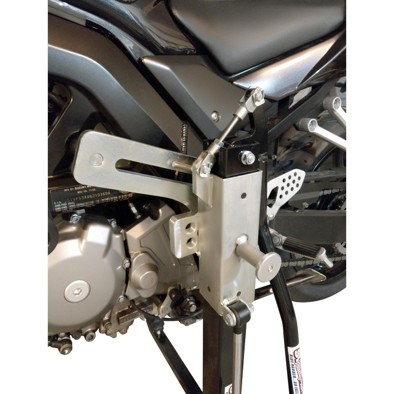 Black Custom Paddock Style Side Lift Stand Gen 2 SV650 Suzuki '03 - 2016 Models