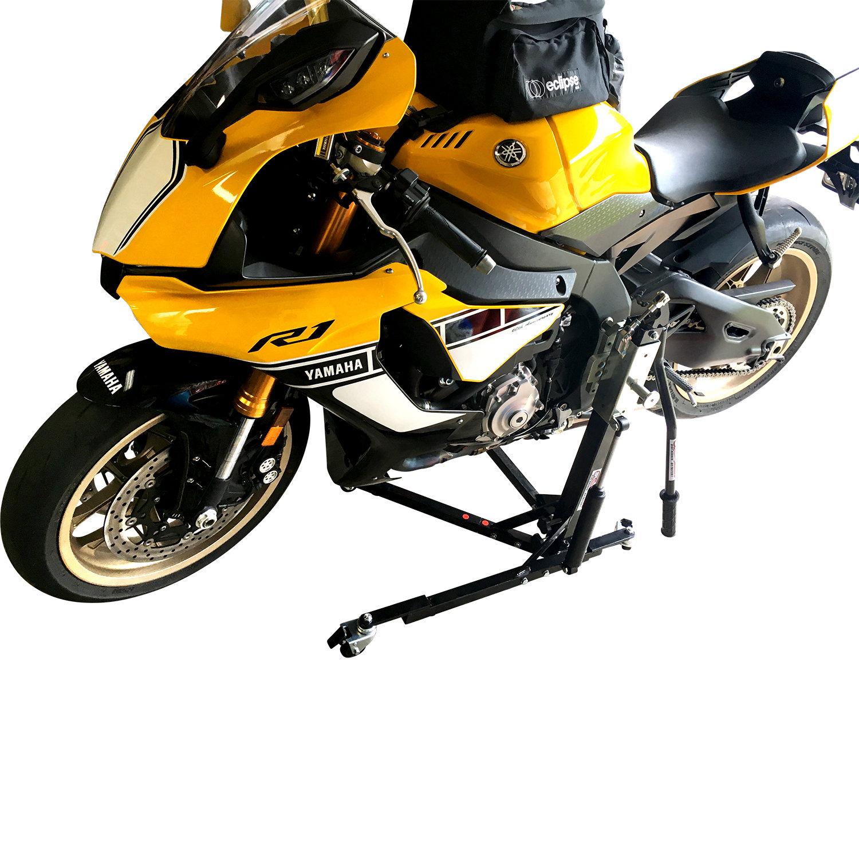 Black Custom Paddock Style Side Lift Stands  Yamaha MT FZ-07 00502