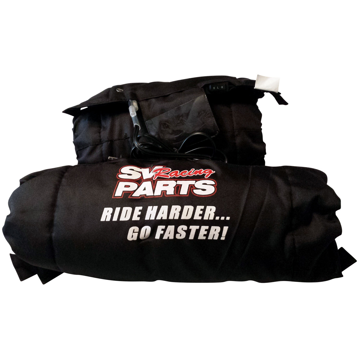 17 Inch Flat Track Series Tire Warmers for 120 Front - 120 Rear Tires on MiniMotard