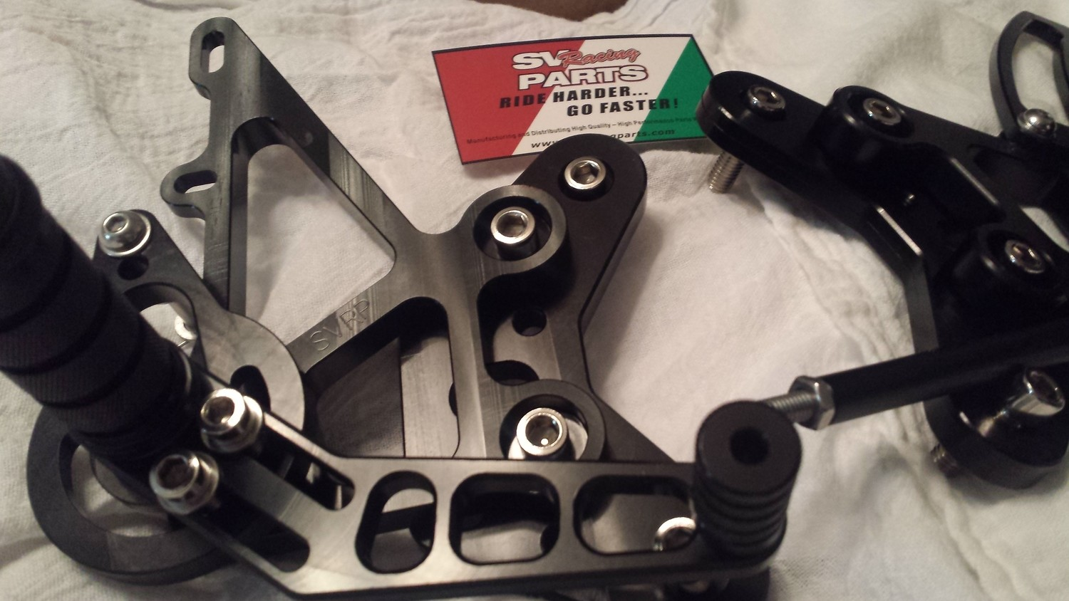 Suzuki Gen 3 SV650 Custom CNC Machined Rear Sets