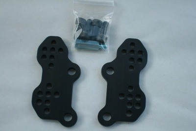 Suzuki SV650 SV650s 1999 - 2014 Adjustable Rear Set Riser Plates